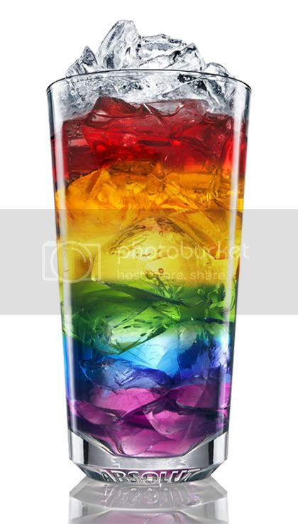 rainbow drink