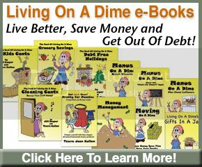 Living On A Dime,Save Money,Get Out of Debt